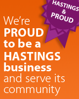 We're pleased to be spear-heading the Hastings & Proud business campaign. Join us - click here.