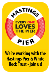 Mention Hastings Pier and we'll donate 25% of our earnings on your policy to the pier charity.