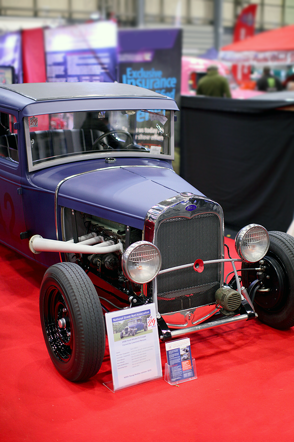Ford Model A Street Rod :: © Chris Knott Insurance 2019