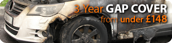 3 years' GAP Cover from Chris Knott Insurance from under £148.