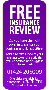 Claim your FREE insurance review and make sure your business has the right cover in place.