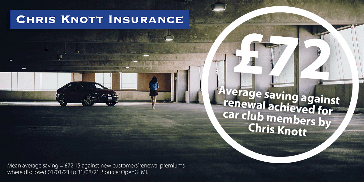 Request a car insurance quote from Chris Knott Insurance