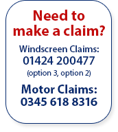 Chris Knott Claims Line: 0845 618 8316