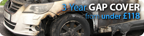 3 years' GAP Cover from Chris Knott Insurance from under £83.